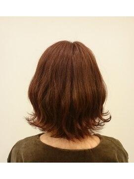 ソイル ヘアー(soil hair)レッドカッパー