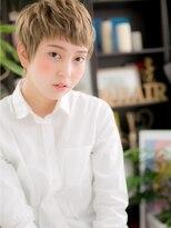 *+COVER HAIR+*…ハイトーン★個性的モダンショートa