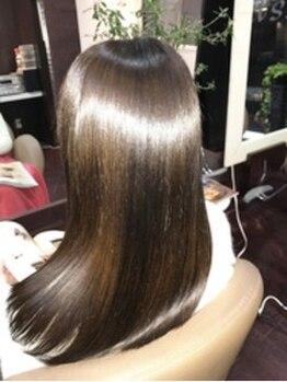 アクス(ACTSS)の写真/気になるダメージヘアも驚きの美しさ。本気で髪をキレイにしたい方にオススメ[M3D酸熱配合トリートメント]