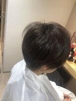 ゲミュ(gemu.)爽やかショートヘアー