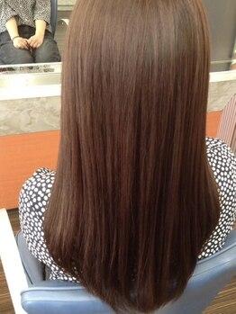 桃太郎 本店の写真/『あなただけの』プレミアムトリートメント。お客様の大切な髪に合わせBESTなケアMENUを選定!