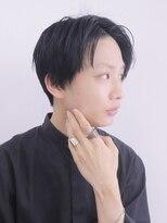 アルバム シンジュク(ALBUM SHINJUKU)トランクスヘアショートレイヤーナチュラル韓流マッシュ_76188