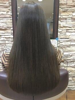 フロートグランディール(FLOAT GRANDIR)の写真/☆頭皮と髪に優しい☆エッセンシティオーガニックカラー!髪の毛本来の美しさを引き出してくれます♪