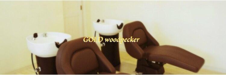 ゴールドウッドペッカー(Gold woodpecker)のサロンヘッダー