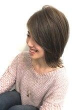 ヘアドゥ セカンド トリップ 北ニジュウヨン条店(hair do SECOND TRIP)外ハネ×くびれスタイル