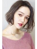 ヘアサロンガリカアオヤマ(hair salon Gallica aoyama)☆3Dカラー × 毛束感 ☆ 外国人風ボブ