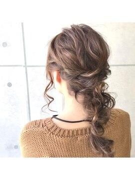 ジル ヘアデザイン ナンバ(JILL Hair Design NAMBA)編みおろし