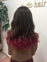アドゥーヘアー(A do hair)pink gradation