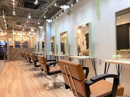 Agu hair lodge 蒲生四丁目駅前店【アグ ヘアー ロッジ】