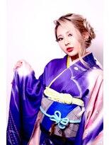 ☆CAPSULE☆2018 成人式編み込み