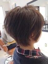 【ruf hair design】定番ショートレイヤースタイル