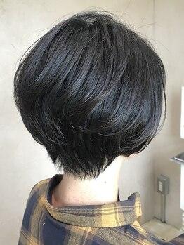 美容室 ホーム オアシス店(home)の写真/すきバサミを使わない、まとまりやすいスタイルが魅力♪多毛やクセ毛でも、色んなヘアスタイルを楽しんで★