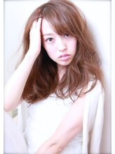 モードケーズ 長岡京店(Hair&Nail MODE K's)小顔ひし形無造作ウェーブ