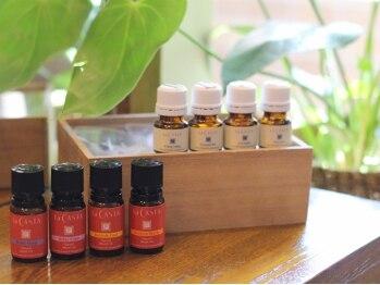 フェイス 赤羽店(face)の写真/NEW☆LA・CASTAオーガニックヘッドスパ♪13種の天然100%エッセンシャルオイルの香りで癒しを♪CUT込¥4725