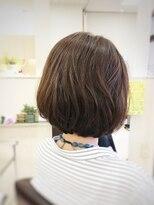 クール ヘアー ギャラリー 神明町店(COOL Hair gallery)軽すぎない立体感ボブ