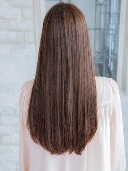 ロッソ ヘアアンドスパ 六町店(Rosso Hair&SPA)の写真/オージュアトリートメント認定サロン♪髪質や状態に合わせてプロが厳選してくれるのも◎【Rosso/六町店】