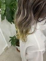 ベニス(VENICE)イエロー裾カラー