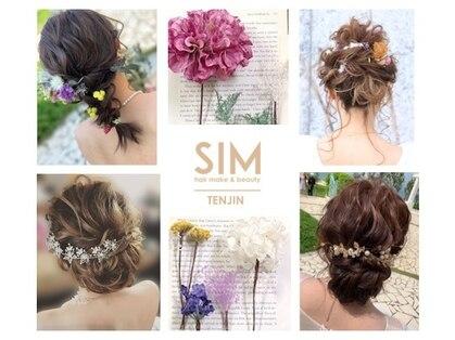 シム テンジン(hair & beaty SIM tenjin)の写真
