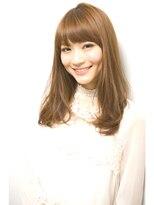 ジョエミバイアンアミ(joemi by Un ami)【joemi】分け目なし前髪で小顔フェイスになれる☆(大島)