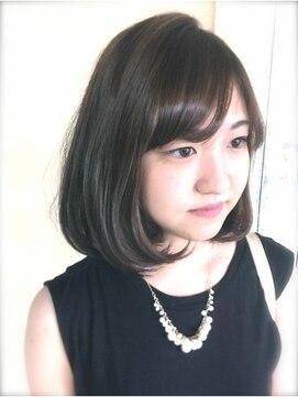 ニコアヘアデザイン(Nicoa hair design)グレーカラー×ぼぶ