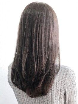 エス ヘア&ヒーリング(S hair&healing)の写真/高いリピート率を誇る【トリートメントストレート】で髪質改善☆毛先までサラツヤ&ナチュラルにまとまる♪