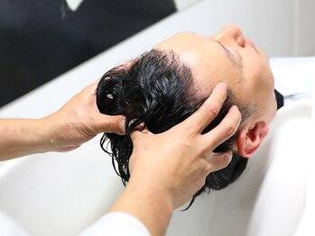 ヘアーメイク ツール(HAIR MAKE TOOL)の写真/当店人気&リピート率◎ヘッドマッサージやSPAクレンジング等の癒しメニューで、日頃の疲れを癒しませんか?