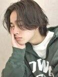 【December】センターパート/ウルフ/ニュアンスパーマ