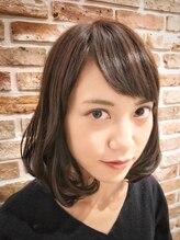 トモリヘアルーム (tomori Hair room)毛先ふんわり☆ミディアム・アッシュグレージュヘア☆