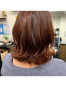 ヘアサロン リアン(Hair Salon Lian)人気トレンド!切りっぱなしボブ
