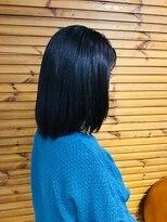 ヘアープラン チョイス 上連雀店(Hair Plan CHOICE)ミディアムストレート