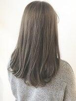 フレイムスヘアデザイン(FRAMES hair design)カーキグレージュ×アンニュイロング