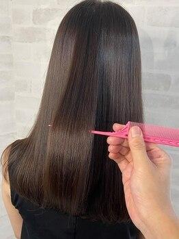 サロン ド ビカ(Salon de bika)の写真/限られたサロンのみが取り扱える話題のサブリミック髪質改善TR♪今まで感じたことのない最高級の手触りに!