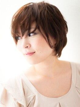 マドモアゼル 青葉台店の写真/天然の樹脂で《ツヤ・ハリ・コシ》が出て、綺麗に髪をコーティング♪髪や頭皮に優しい白髪染めです!