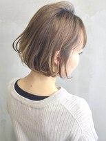 ソース ヘア アトリエ 京橋(Source hair atelier)【SOURCE】ミルクティーボブ