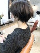 エトネ ヘアーサロン 仙台駅前(eTONe hair salon)丸みショート