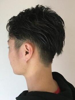 ヘアーズルーム 風(Hair's room fuu)の写真/【平日限定☆美フォルムカット】緊張がほぐれる居心地の良さが魅力♪貴方に合った提案で男らしさUP!
