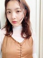メル アミ(mer ami)オレンジブラウン&ミディアムヘア