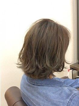 ヘアーメイク ギゼ(hair make GIZE)の写真/仕上がりのキレイが違う!思い通りのカラーをご提供致します。