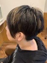テトラ ヘアー(TETRA hair)2ブロックアシメハイライト