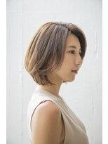 センスヘア(SENSE Hair)【SENSE Hair】大人カジュアルなキレイめボブ♪