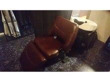 ポッシュ ヘアー(POSH hair)の雰囲気(フルフラットの眠れるシャンプー台。半個室で落ち着く環境が◎)
