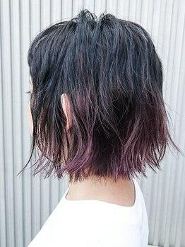 トリコ(trico)の写真/透明感あるツヤ髪へ…★白髪が気になりだした大人女性もオシャレに可愛く!ツヤ・デザイン◎な美髪カラーに!