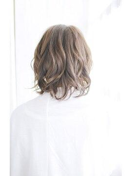 シュシュット(chouchoute)美髪黒髪着物イルミナカラーヘルシーレイヤーデジタルパーマ/021