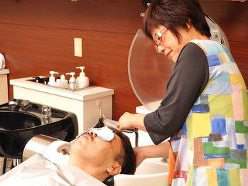 ヘアワークス ヴィヴィ(Hair works ViVi)の写真/<メンズ限定クーポンもご用意しています◎>スタイリングが楽々で清潔感・印象UPのスタイルに!