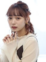 ヘアリゾート バレンタイン(hair+resort valentine)ミディアム☆ハーフアップ×ヘアアレンジ