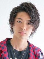 アース 小田原店(HAIR&MAKE EARTH)ワイルドアップバングスタイル