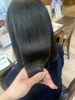 髪質改善プレミアムグラストリートメント