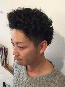 パーチェヘアー(Pace hair)の写真/メンズのスタイリングにも自信あり◎確かな技術を持つオーナースタイリスト松田さんが担当してくれます。
