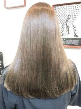ヘアー コレクション ピース(hair collection PEACE!)の写真/艶サラのエイジングストレートorノンアルカリストレート