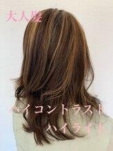 インプレス 小樽店(impres)【impres】☆大人髪×コントラストハイライト☆